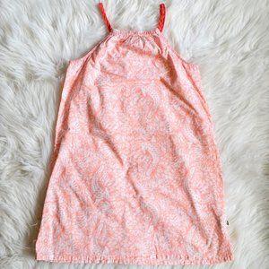 Lacoste Girls Alligator Floral Pillowcase Dress 8